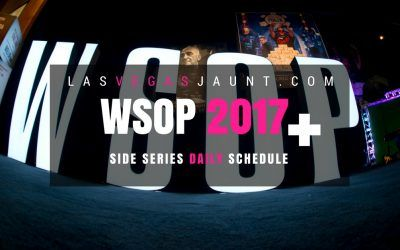 WSOP 2017 Side Series Full Schedule